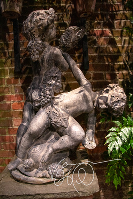 Cherubs and Grapes