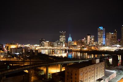 Pittsburgh from LIberty Bridge 1