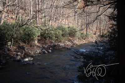 Stream From the Fishing Hut