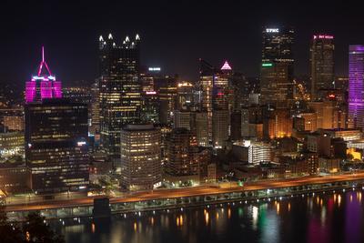 Pittsburgh at Night 1